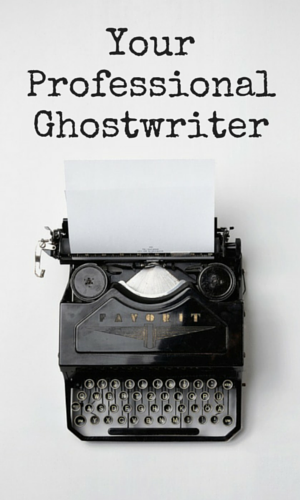 Professional Ghost Writer