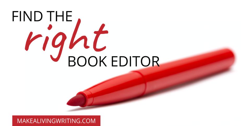 find a book editor